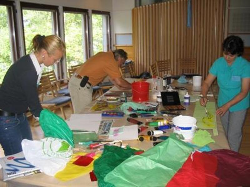 finland streams in desert art workshops
